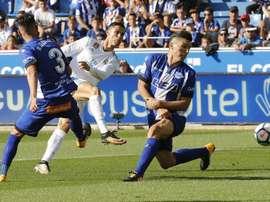 Onzes prováveis do Real Madrid- Alavés. EFE