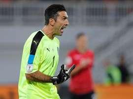 Le gardien de la Juventus Gianluigi Buffon. EFE