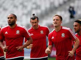 Williams is training with Wales. EFE