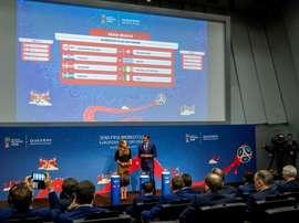 Grécia e Croácia sem torcedores na repescagem. EFE