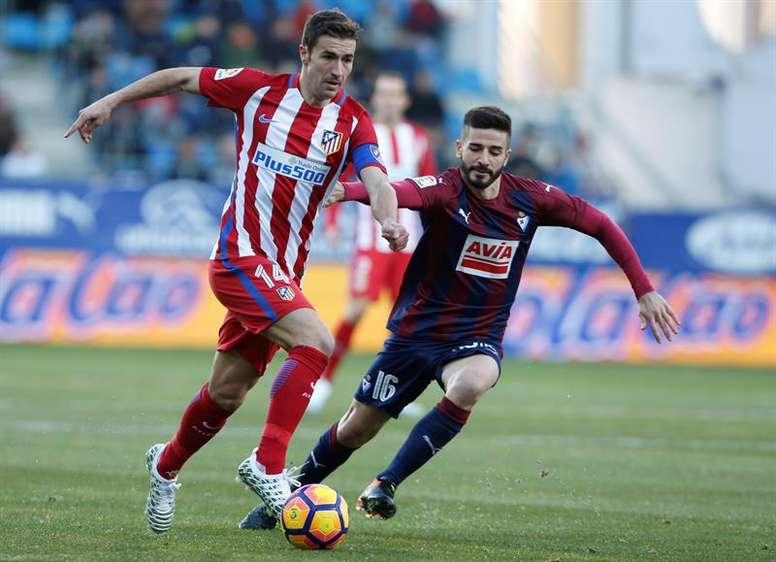 L'Atlético est à 9 points du Barça. EFE