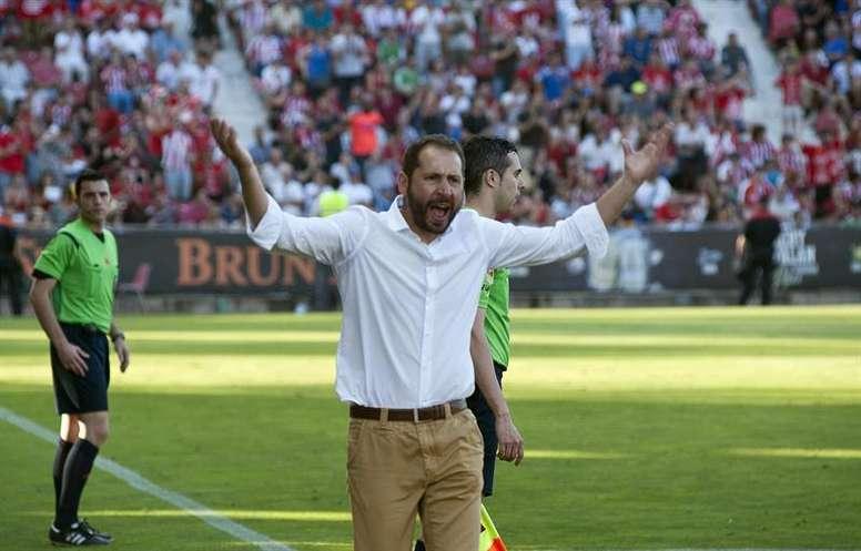 El Girona ha caído en cuartos de la Copa de Catalunya. EFE/Archivo