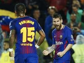 Leo Messi est le meilleur buteur. EFE