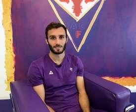 Germán Pezzella seguirá siendo de la Fiorentina. EFE/Archivo