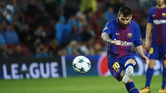 Messi est à la poursuite de Maradona. EFE