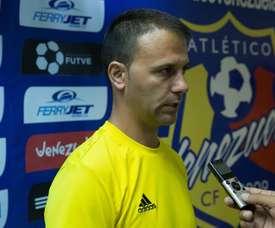 Alex Pallarés dejará el banquillo de Atlético Venezuela. EFE/Archivo