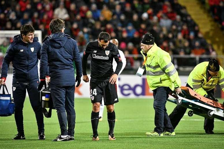 Balenziaga regresó a una lista del Athletic. EFE