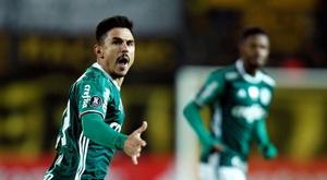 Willian marcou um dos gols do Palmeiras contra o Red Bull Bragantino. EFE/Arquivo