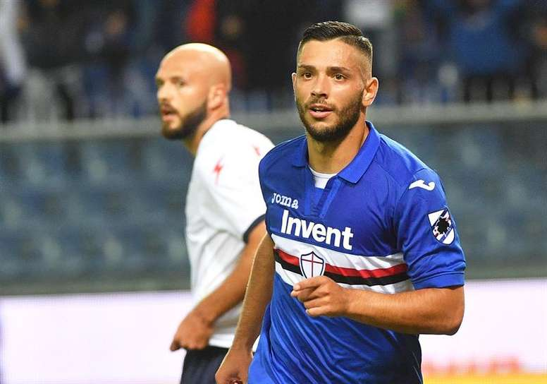 La Sampdoria machacó a un flojísimo Crotone. EFE