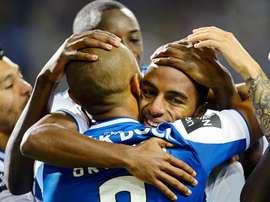 O FC Porto bateu o RB Leipzig por 3-1. EFE/EPA