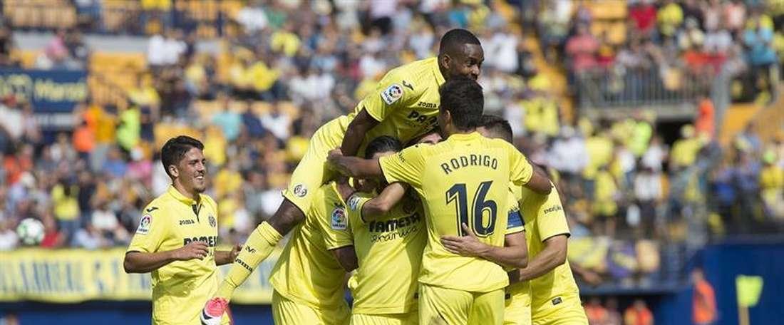 O Villarreal venceu na receção ao Las Palmas. EFE