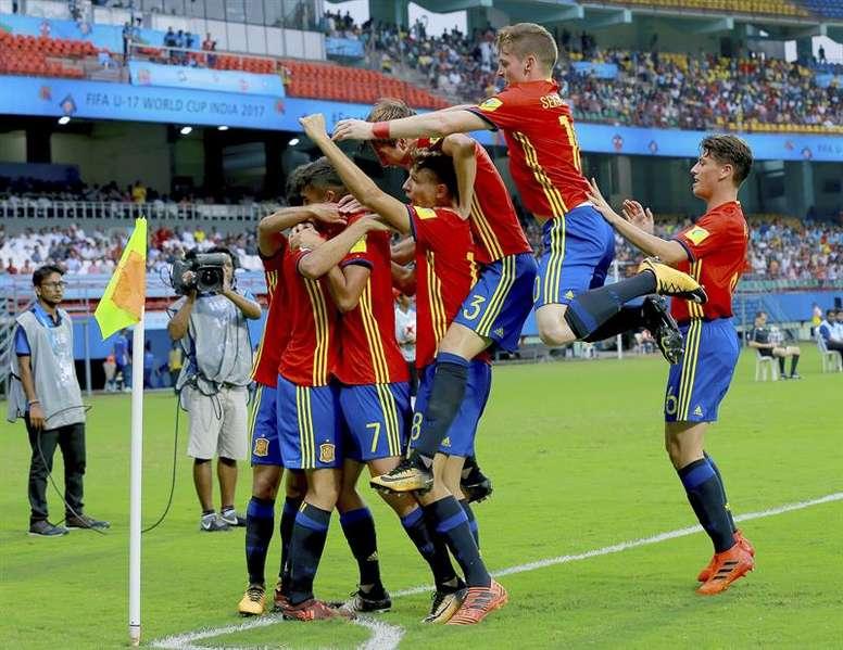 España tardó en adelantarse ante Grecia. EFE