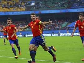 Ruiz is impressing at the U17 World Cup. EFE