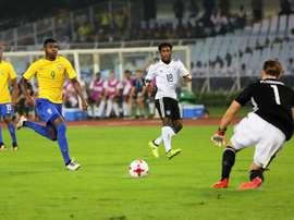 Brasil evita una reedición del 'Mineirazo' y se mete en semifinales del Mundial Sub 17. EFE