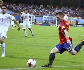 España ya está en las semifinales del Mundial Sub 17. EFE