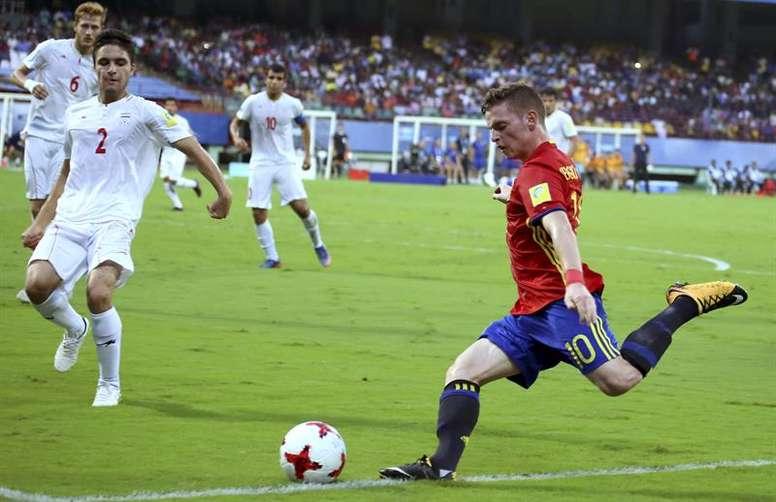 Sergio Gómez podría salir del Borussia. EFE