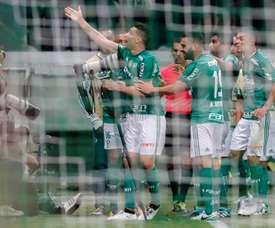 Torcedores do Palmeiras querem mexidas para 2018. EFE