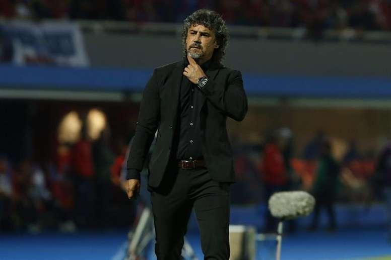 Olimpia se llevó el triunfo por 3-2. EFE/Archivo