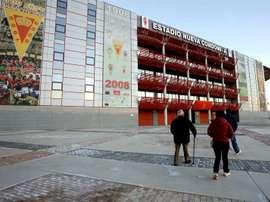 El Murcia ha caído en la última jornada ante la 'Balona'. EFE/Archivo