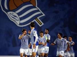 La Real Sociedad accueille Vardar à l'Anoeta. EFE