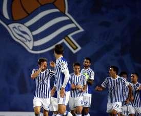 La Real Sociedad se merendó al Vardar Skopje. EFE/Archivo