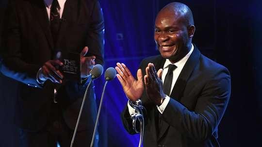 Francis Koné a remporté le prix du fair play. EFE