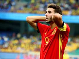 Abel Ruiz has stood out at the U17 World Cup. EFE/Archivo