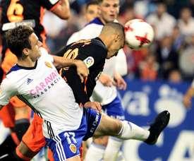 El conjunto maño se verá las caras con el Valencia en Mestalla. EFE/Archivo