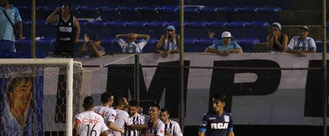 Libertad venció por 3-0 a The Strongest. EFE/Archivo