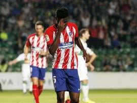 L'Atlético reçoit Elche. EFE
