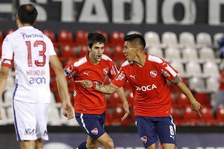 Independiente ya tiene casi todo el trabajo hecho. EFE