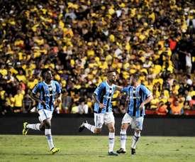 Gremio, más cerca de jugar su quinta final de Libertadores. EFE