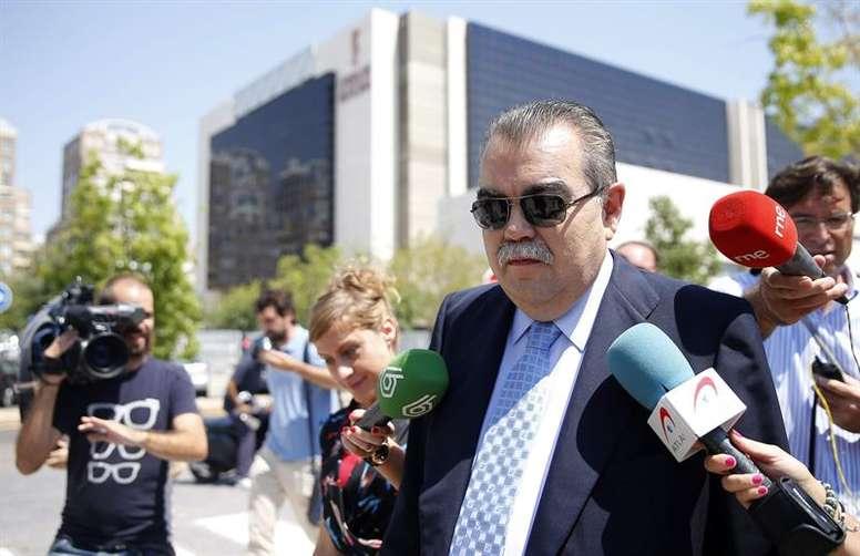 Juan Soler, exculpado del intento de secuestro a Vicente Soriano. EFE