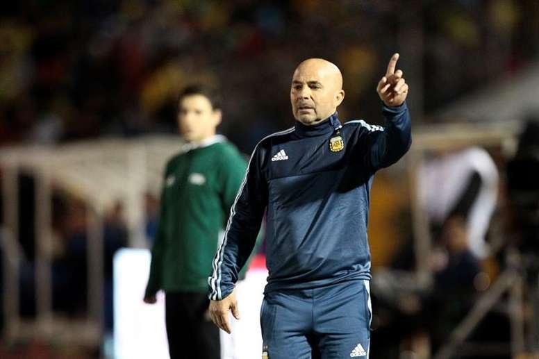 El técnico argentino piensa en Belluschi para los próximos partidos. EFE/Archivo