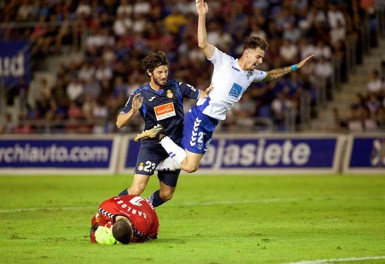 Luis Pérez, en foto de archivo, podría llegar al Valladolid. EFE