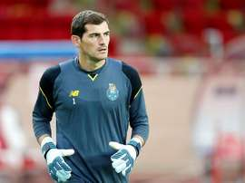 El Oporto, con Casillas bajo palos, goleó al Portimonense. EFE/Archivo