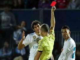 Alerta por acumulación de tarjeta en la Copa del Rey. EF