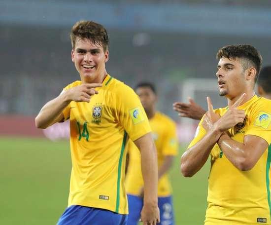 Brasil se lleva el tercer puesto del Mundial Sub 17. AFP