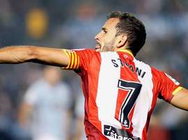 Stuani scored one and had a hand in the other for Girona. EFE/Archivo
