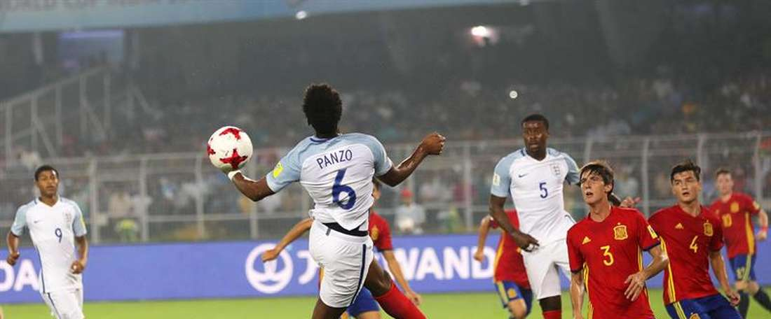 England completed a stunning comeback to clinch U17 World Cup. AFP