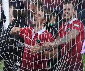 Hannover 96 y Bayer Leverkusen empataron a cuatro. EFE