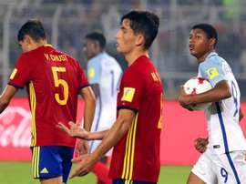 España perdió su cuarta final. EFE