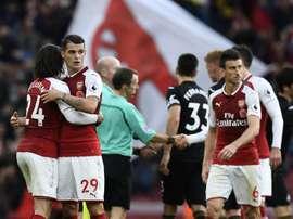 O Arsenal é uma das equipes já apuradas. EFE/EPA