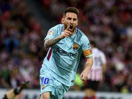 Pelo menos nesta lista Messi levou a melhor sobre CR7. EFE