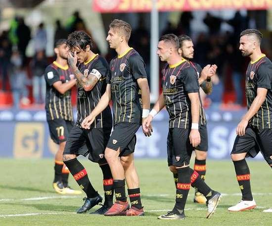 La Lazio volvió a ganar, esta vez ante el Benevento. EFE