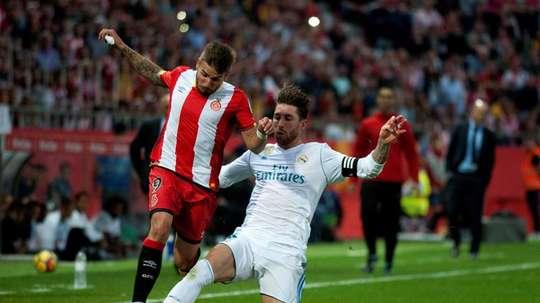Portu podría cambiar el Girona por el Sevilla. EFE