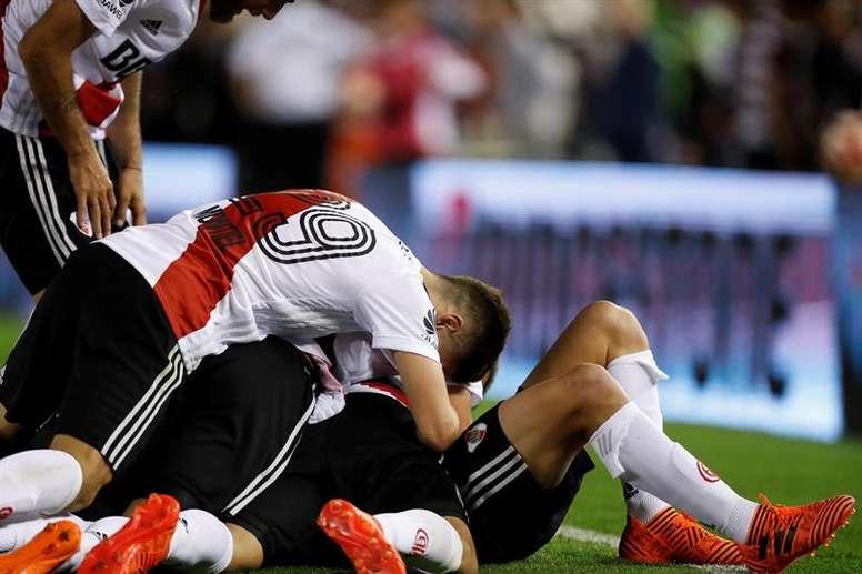 Nacional desea a un jugador de River Plate. EFE