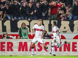 El Stuttgart no pasó del empate ante el Hannover 96. AFP/Archivo
