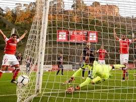 El Sporting de Braga venció por 2-0 a Marítimo. EFE/Archivo