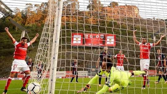 El Sporting de Braga asciende hasta la cuarta posición. EFE
